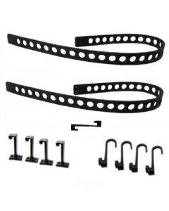 QUICK FIST Rubber Tie Down Belt Pack - Item #11075