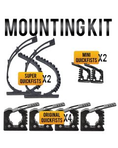 QUICK FIST Clamp Mounting Kit - Item #90010