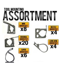 QUICK FIST Tool Mounting Assortment - Item #90099